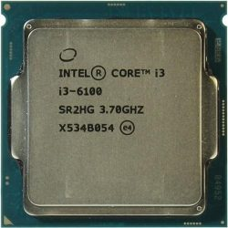 Процессор Intel Original Socket-1151 Core I3-6100 (3.70GHz/3Mb)