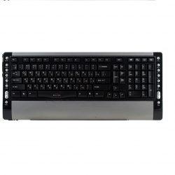 Клавиатура OKLICK 410M черн./серебро ммедиа PS/2 USB порт