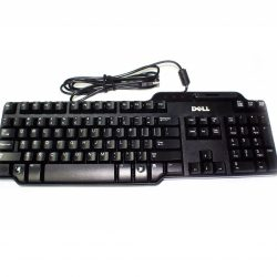 Клавиатура Russia QWERTY Dell SmartCard Keyboard USB Black 580-14458