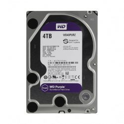 Жесткий диск 4000ГБ Western Digital Purple WD40PURZ, 64МБ (SATA III)