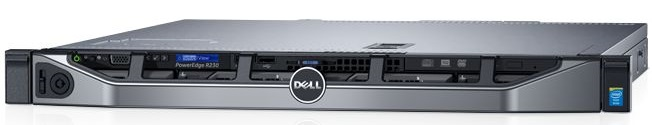 СЕРВЕР POWEREDGE R230 В КОРПУСЕ 1U