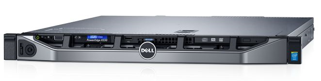 СЕРВЕР POWEREDGE R330 В КОРПУСЕ 1U