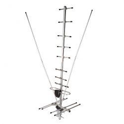 ТВ-Антенна наружная «АКТИВНАЯ» для аналогового и цифрового ТВ — DVB-T2 (модель RX-403-2) REXANT 34-0403-2