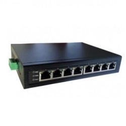 Коммутатор iZett HR-PSWD-08TA-48/240 POE 8*10/100 Tx(33,6W/порт), с протоколом, питание 48-55V DC