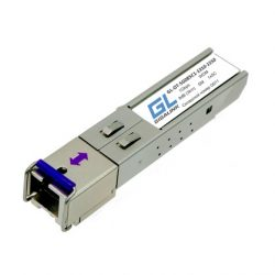 Модуль SFP GIGALINK WDM, 1Гбит/с, одно волокно SM, SC, Tx:1550/Rx:1310 нм, DDM, 8 дБ (до 3 км)