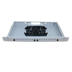 ШКОС-С-1U/2-16-SC Бокс оптический 19 на 16 SC со сплайс-пластиной (без пигтейлов и проходных адаптеров)