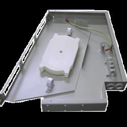 Шкаф кроссовый оптический стоечный 19 (ШКОС)24 порта поворотный (FT-S24)