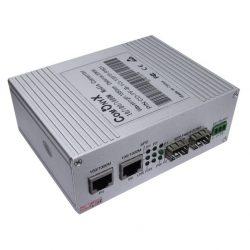 Коммутатор COMONYX CO-PF-1G-1SFP-P501, гигабитный, SFP, 2 порта RJ-45, 2 порта — SFP Fiber port