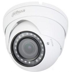 HDCVI видеокамера купольная DH-HAC-HDW1100RP-VF-S3, 1Мп, вариофокальный объектив 2,7-13,5мм, поддержка AHD, TVI, CVBS, CVI