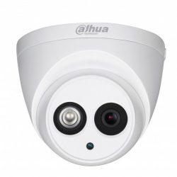 HDCVI Видеокамера купольная DH-HAC-HDW1220EMP-A-0360B, 2Мп, фиксированный объектив 3,6мм, поддержка CVBS, микрофон