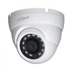 HDCVI Видеокамера купольная DH-HAC-HDW1220MP-0280B, 2Мп, фиксированный объектив 2,8мм, поддержка AHD, CVI, TVI, CVBS