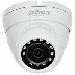 HDCVI Видеокамера купольная DH-HAC-HDW1400RP-0280B, 4Мп, фиксированный объектив 2,8мм, поддержка CVBS