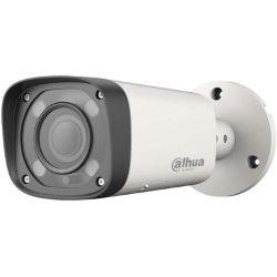 HDCVI Видеокамера цилиндрическая DH-HAC-HFW1400RP-VF-IRE6, 4Мп, вариофокальный объектив 2,7-13,5мм