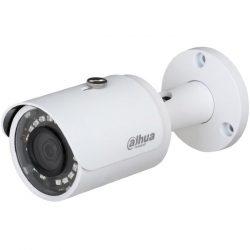 HDCVI Видеокамера цилиндрическая DH-HAC-HFW1400SP-0280B, 4Мп, фискированный объектив 2,8мм, с поддержкой AHD, TVI, CVI, CVBS