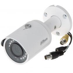 HDCVI Видеокамера цилиндрическая DH-HAC-HFW2401SP-0360B, 4Мп, фискированный объектив 3,6мм