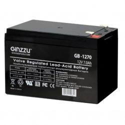 Батарея аккумуляторная Ginzzu «GB-1270» 12В 7.0 А*ч
