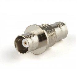 Коннектор Hyperline ADB-BNC-F-BNC-F BNC, мама-мама для установки в панели, i-коннектор проходной
