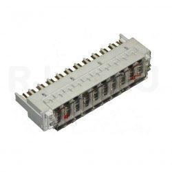 Комплект защиты от перенапряжения (магазин, крышка, 10 разрядников 230В) MX-PM-10-S