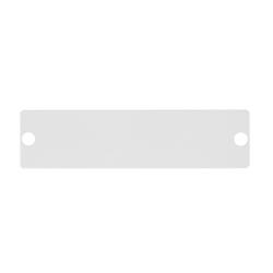 Адаптерная панель-заглушка NIKOMAX /NMF-AP-BLANK-GY/ стальная серая
