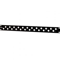 Патч-панель Hyperline PPBL-BNC-19-24BNC, BNC, 19″, 24 порта, 1U, без модулей