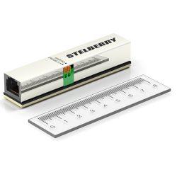 Универсальный проходной PoE-сплитер Stelberry MX-225, позволяет осущ. питание микрофонов для видеонаблюдения от PoE-питания IP-камеры