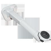 Tantos TAB-500L — удлиненный пластиковый кронштейн для корпусных камер