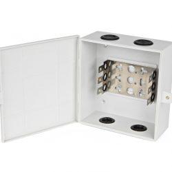 Коробка распределительная Hyperline KR-INBOX-30-NK, на 30 пар, 180x170x75 мм