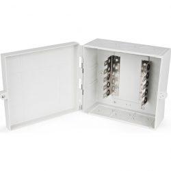 Коробка распределительная Hyperline KR-INBOX-50-NK, на 50 пар, 190x205x105 мм
