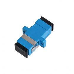 Адаптер NIKOMAX NMF-OA1SM-SCU-SCU-2 волоконно-оптический соединительный одномодовый 9/125мкм SC/UPC-SC/UPC одинарный пластиковый синий