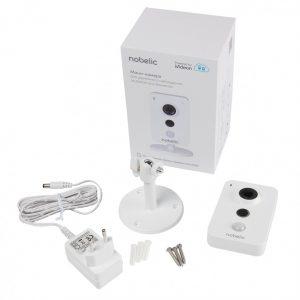 IP-камера Nobelic NBLC-1210F-WMSD 2.8мм Wi-Fi, ИК-подсветка до 10м, поддержка MicroSD до 128Гб, встроенный микрофон и динамик
