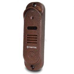 Вызывная панель видеодомофона TANTOS Stich (медь) , накладная, камера 800 ТВЛ., PAL, угол обзора 53 град., -30С…+50С, IP66, четырехпроводная схема подключения