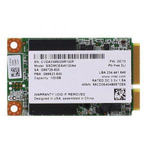 Накопитель SSD 120ГБ Intel mSATA всего за 4299 рублей