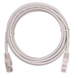 Патч-корд EC-PC4UD55B-050-GY-10 NETLAN U/UTP 4 пары, Кат.5е, 2хRJ45/8P8C, T568B, Molded, PVC, серый, 5м