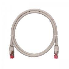 Патч-корд NIKOMAX U/UTP 4 пары, NMC-PC4UD55B-005-RD, Кат.5e (Класс D), 100МГц, 2хRJ45/8P8C, T568B, заливной, с защитой защелки, многожильный, 0.5 метра