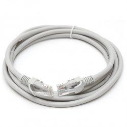 Патч-корд Hyperline PC-LPM-UTP-RJ45-RJ45-C5e-1.5M-GY UTP, Cat.5e, 1.5 м, серый