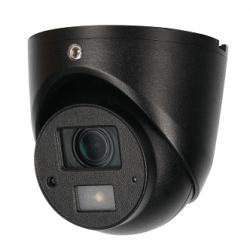 HDCVI Видеокамера купольная DH-HAC-HDW1220GP-0360B, 2Мп, антивандальная, микрофон, поддержка AHD, CVBS, CVI, TVI