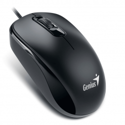 Мышь Genius DX-110 Black оптическая, 1000dpi 3кнопки USB
