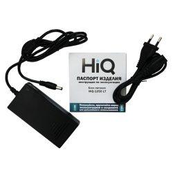 Блок питания HiQ-1250 LT 12V,5A (арт. HIQ-1250 IN220/OUT12/5A/BLACK)