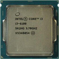 Процессор Intel Original Socket-1151 Core I3-6100 (3.70GHz/3Mb)