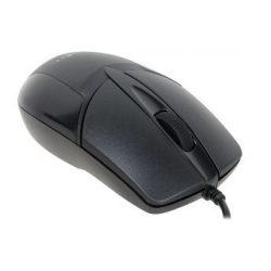 Мышь Oklick 145M черный оптическая 1000dpi USB 2but