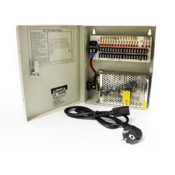 Блок питания HiQ-1218, 12V,10A (арт. HIQ-1218 IN220/OUT12X18/10A)