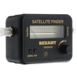 Измеритель уровня сигнала спутникового TV с двумя светодиодами  SF-20  (SAT FINDER)  REXANT 12-1102