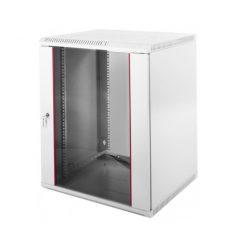 Шкаф настенный ЦМО ШРН-Э-18.650 белый, дверь стеклянная