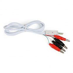 Шнур тестовый Hyperline KR-CABLE-CRO4 4-х контактный, зажимные контакты