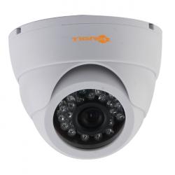 Видеокамера TIGRIS THL-D20, 2Мп, купольная, объектив f=2.8 мм, с ИК-подсветкой, поддержка CVBS, AHD, CVI, TVI