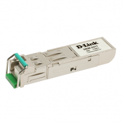 Модуль SFP D-Link DEM-331T 1-port mini-GBIC 1000Base-LX SMF WDM SFP Tranceiver (up to 40km, support 3.3V power, LC connector)