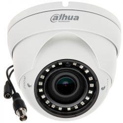 HDCVI видеокамера купольная DH-HAC-HDW1220RP-VF, 2Мп, вариофокальный объектив 2,7-13,5мм, поддержка AHD, TVI, CVBS, CVI