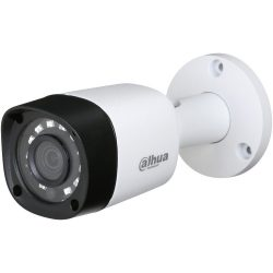 HDCVI Видеокамера цилиндрическая DH-HAC-HFW1000RMP-0360B-S3, 1Мп, фискированный объектив 3,6мм, с поддержкой AHD, TVI, CVI, CVBS
