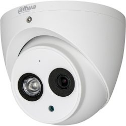 Видеокамера IP уличная купольная DAHUA DH-IPC-HDW4231EMP-ASE-0280B, 2Мп, фиксированный объектив 2,8мм, микрофон