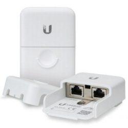 Грозозащита UBIQUITI ETH-SP Устройство защиты радиоэлектронных устройств, устанавливаемых вне помещения, от повреждения электростатическим разрядом и скачков напряжения